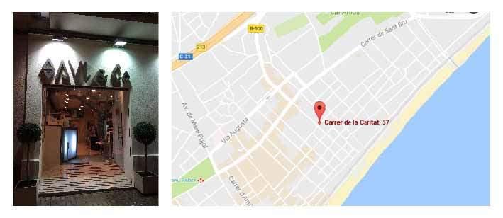 Mapa Saul & Co