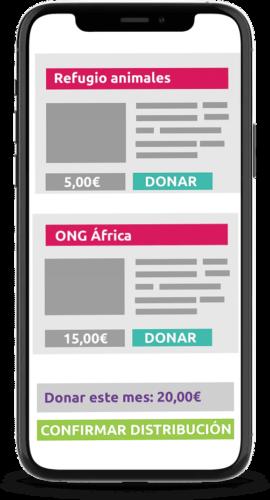 Herramientas para donaciones mensuales